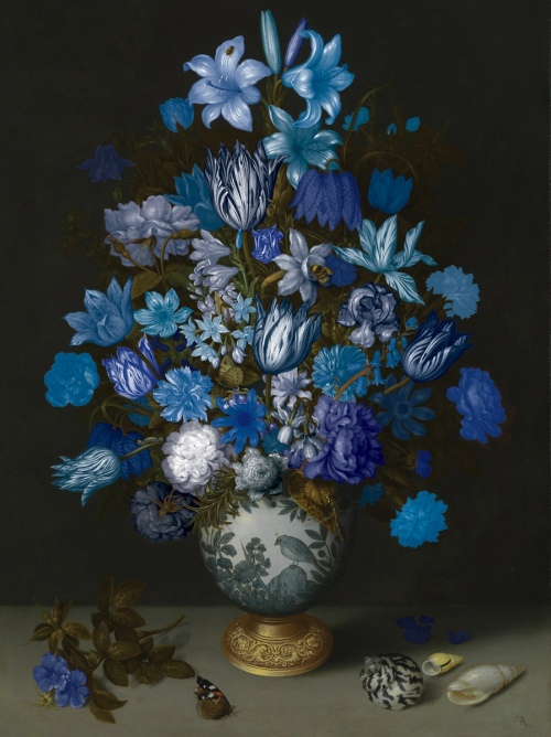 Rob and Nick Carter - RN899, Flowers in a Wan-Li Vase, 2013 · © Copyright 2020