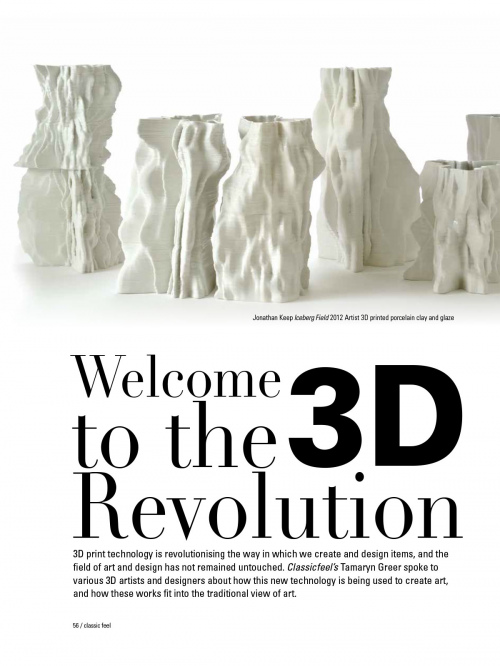 Rob and Nick Carter - Welcome to the 3D Revolution, Classic Feel magazine · © Copyright 2020