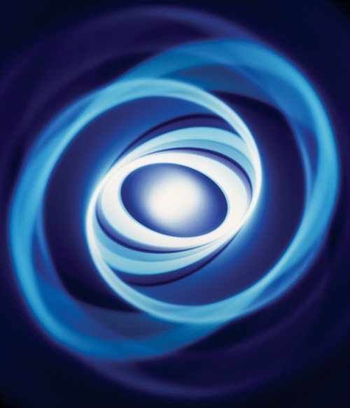 Rob and Nick Carter - RN472, Spiral Through Blue, 2004 · © Copyright 2020