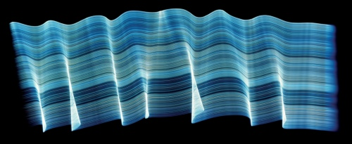 Rob and Nick Carter - RN202, Light Drawing Blue, 2002 · © Copyright 2018