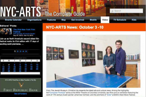 Rob and Nick Carter - Editor's Picks, NYC-Arts (online) · © Copyright 2020