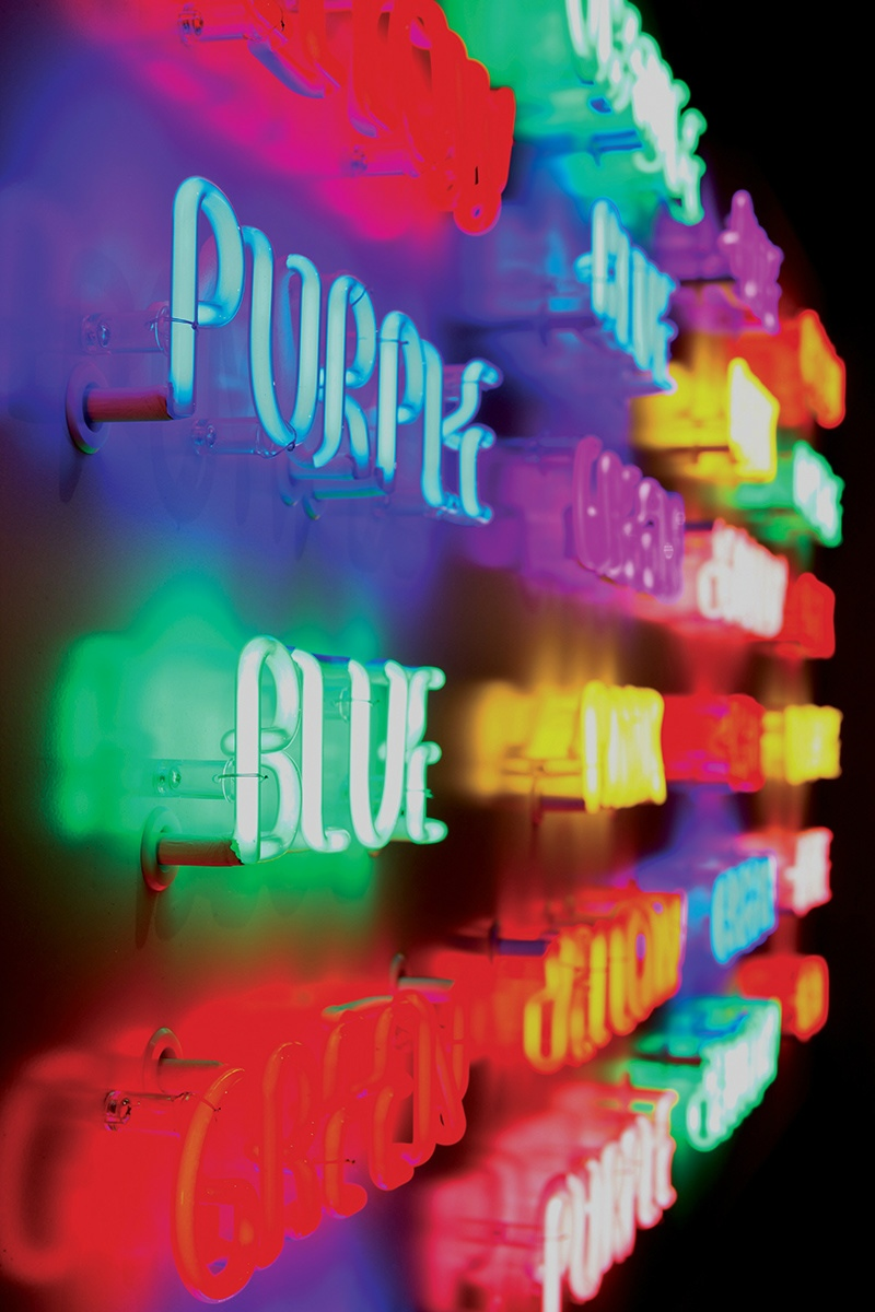 Rob and Nick Carter - RN928, Read Colours Not Words, From Blue to Orange, 2009 · © Copyright 2019