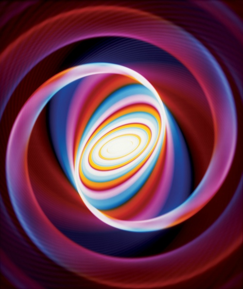 Rob and Nick Carter - RN771, Colour Changing Spiral, 2010 · © Copyright 2020