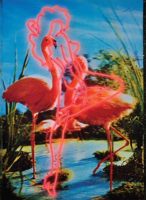 Rob and Nick Carter - RN789, Pink Flamingos, 2011 · © Copyright 2019