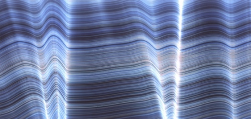 Rob and Nick Carter - RN439, Light Drawing Blue XV, 2004 · © Copyright 2020