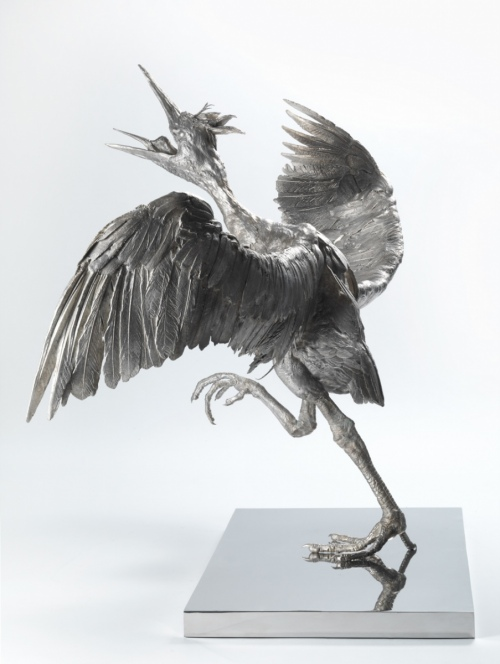 Rob and Nick Carter - RN1014, Bronze Heron, 2016 · © Copyright 2019