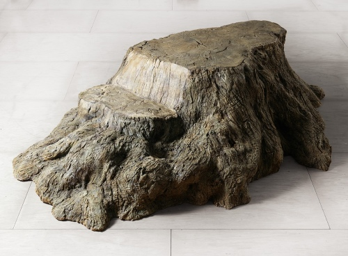 Rob and Nick Carter - RN1025, Bronze Tree Stump, 2016 · © Copyright 2019