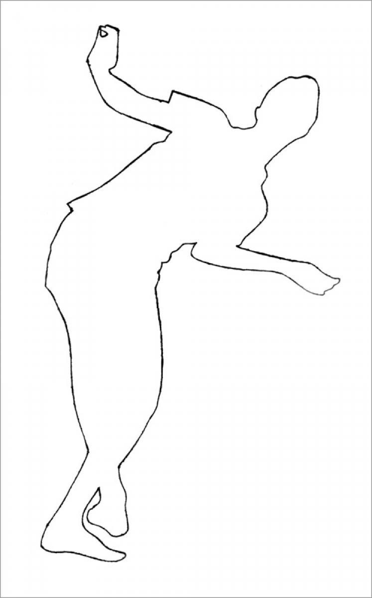 Rob and Nick Carter - RN966, Dancer I, Neon Line Drawing after Andy Warhol (c.1953), 2013 · © Copyright 2018