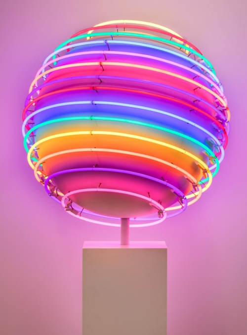 Rob and Nick Carter - RN1088, Neon World, 2016 · © Copyright 2019