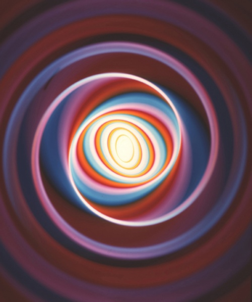 Rob and Nick Carter - RN735, Colour Changing Spiral, 2009 · © Copyright 2020