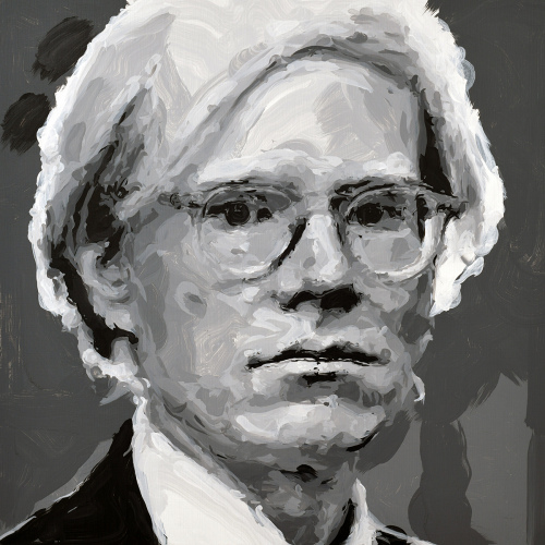 Rob and Nick Carter - RN1254, Andy Warhol - Robot Painting - Painting time: 15:10:00 - Stroke count: 6,210,  18–19 October 2019 · © Copyright 2020