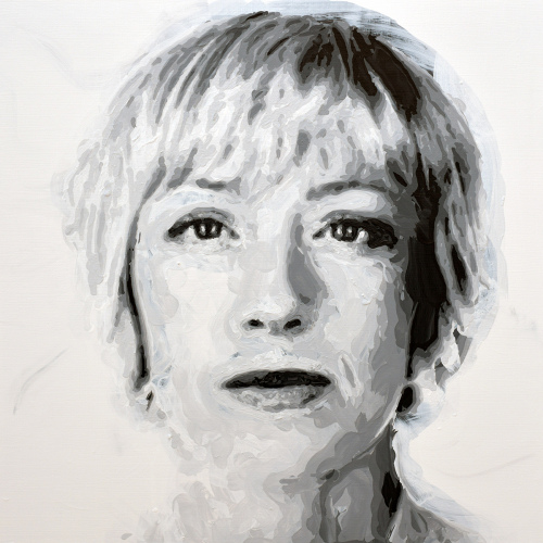 Rob and Nick Carter - RN1267, Cindy Sherman - Robot Painting - Painting time: 22:44:11 - Stroke count: 7,898, 23-24 January 2020 · © Copyright 2020