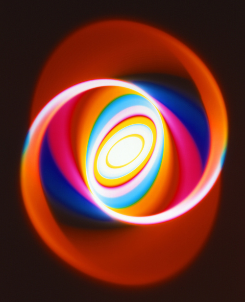Rob and Nick Carter - RN1275, Colour Changing Spiral Print, 2020 · © Copyright 2021